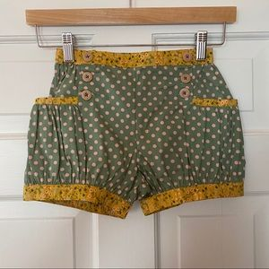 Matilda Jane + Joanna Gaines Green Thumb Shorts